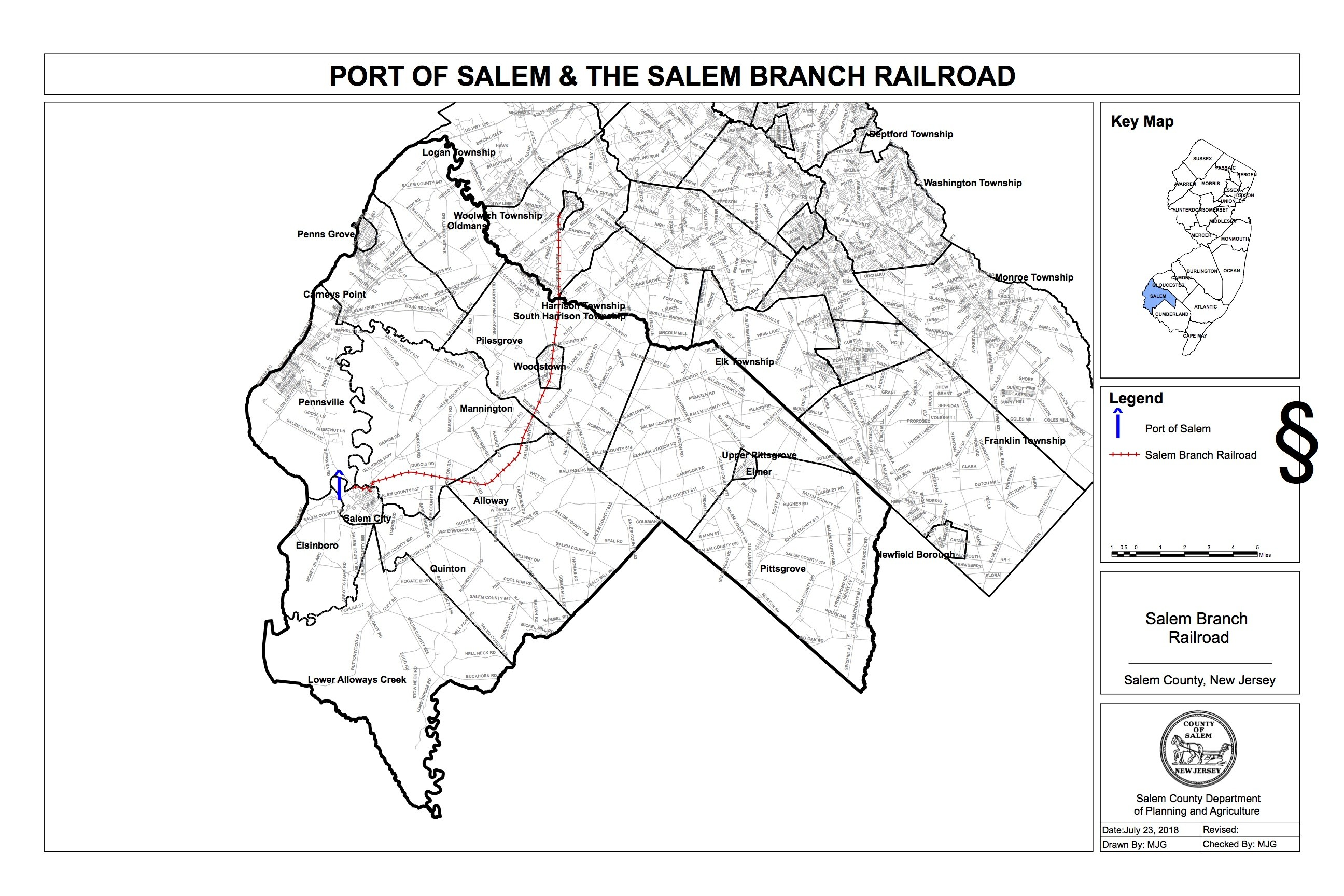 SalemBranchRailroad - Redevelopment Areas